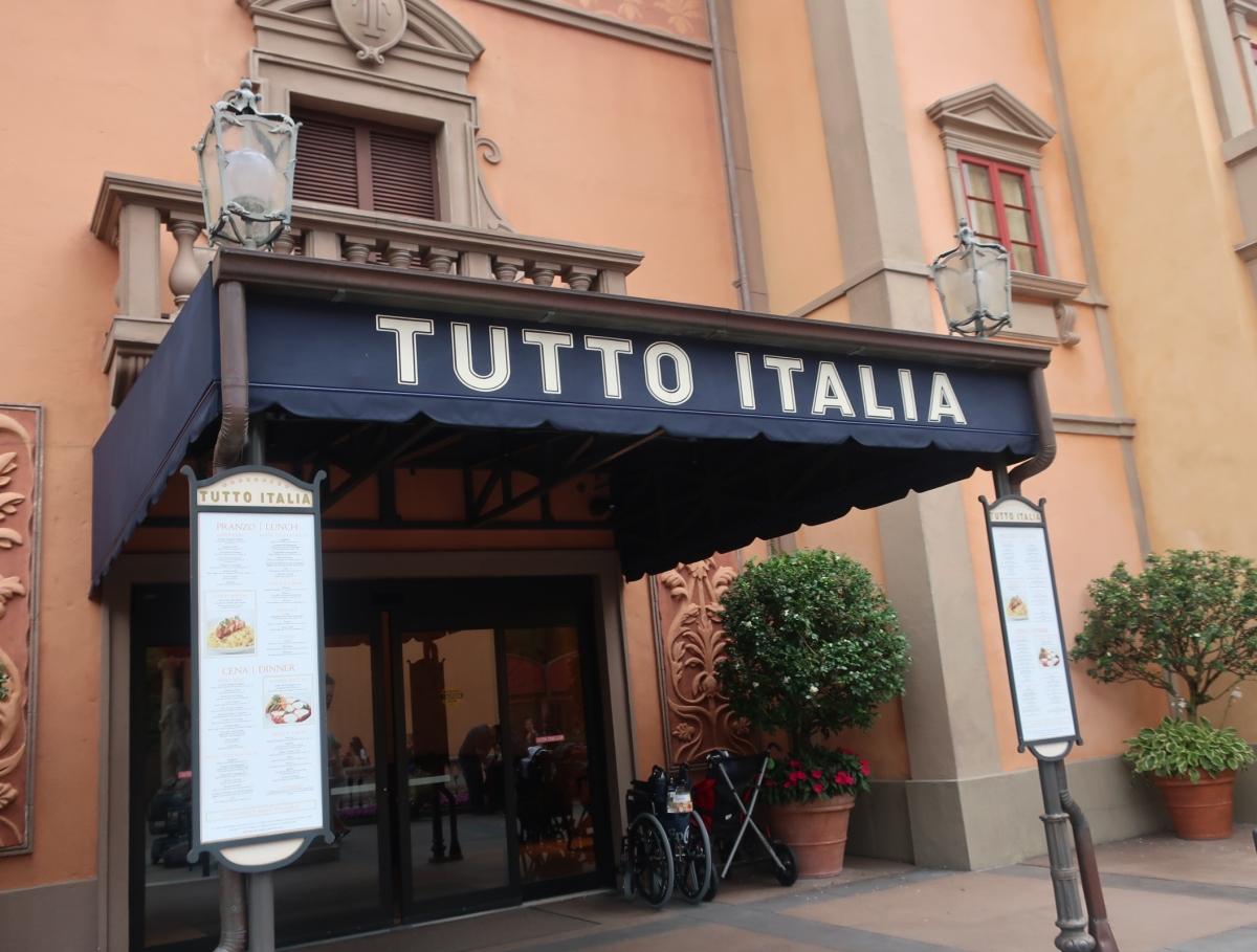 Tutto Italia entrance