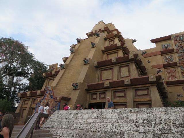 Pyramid Epcot Mexico