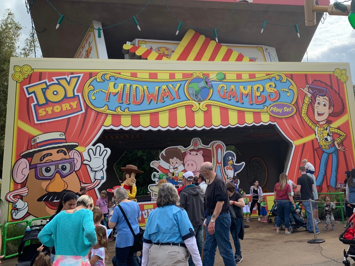 New Toy Story Mania Entrance
